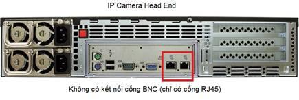 IP Camera head end